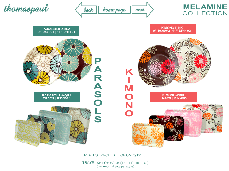 Thomas Paul - Melamine Collection